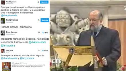Twitter: diversas personalidades se manifiestan por el caso del Sodalicio