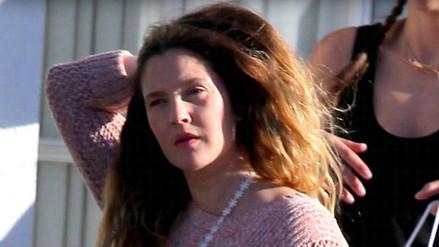 Drew Barrymore se entrega al alcohol horas después de su divorcio