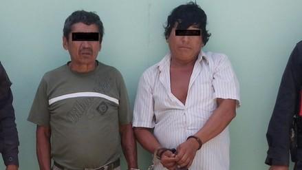 Policía de Chongoyape captura a sujetos que asaltaron a campesino en Huaca Blanca