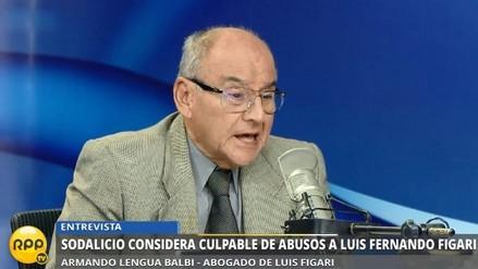 "Abogado de Figari: ""Anuncio del Sodalicio no aporta a investigación penal"""