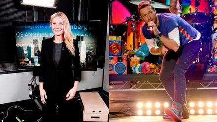 Gwyneth Paltrow estuvo presente en el concierto de Coldplay