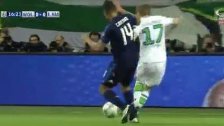 Wolfsburgo vs. Real Madrid: el polémico penal de Casemiro a André Schürrle