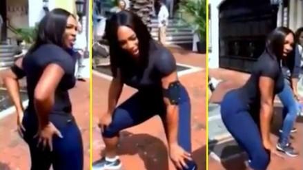 YouTube: Serena Williams sorprende con clases de 'twerking'