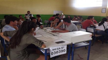 Tres colegios son los centros de mayor votación en Piura