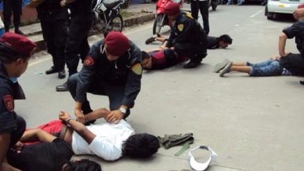 Chiclayo: Radio Patrulla desarticuló 78 bandas de arrebatadores