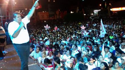 Chimbote: Alan García calificó a otros candidatos como