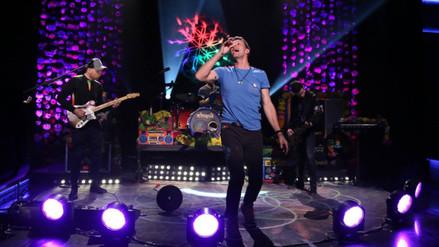 Coldplay desató su fiesta de colores en Lima