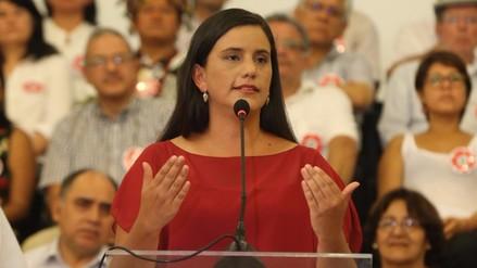 JEE de Lima Oeste 2 abre proceso de investigación a Verónika Mendoza