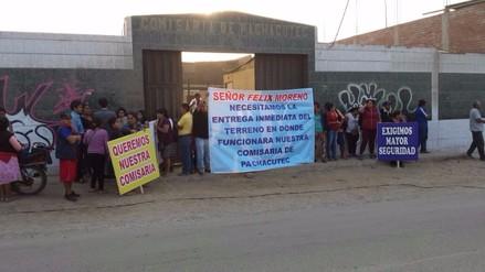 Callao: pobladores piden restauración de comisaría de Pachacutec