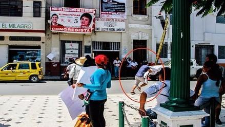 Apristas contrataron a desconocidos para agredir a manifestantes de Chaparri