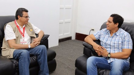Gobernador Regional critica proceso electoral ante observador de la OEA