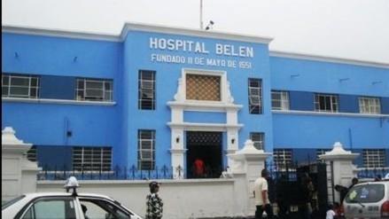 Trujillo: techo se desploma en área de Medicina de Hombres del Hospital Belén