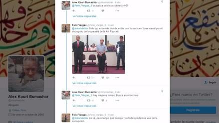 Twitter: trolean a Alex Kouri tras criticar marcha del 5 de abril