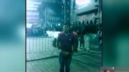 Falleció joven que cayó a Vía Expresa tras salir del concierto de Coldplay