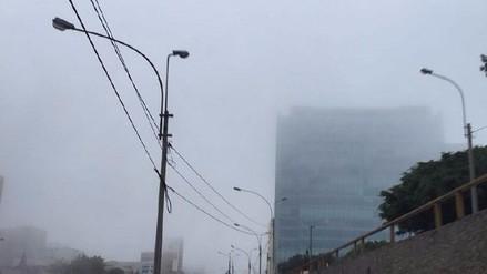 Vientos fríos del sur provocaron neblina en Lima