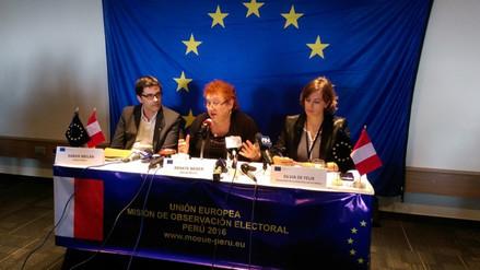 MOE UE: no hay indicios de fraude en elecciones generales