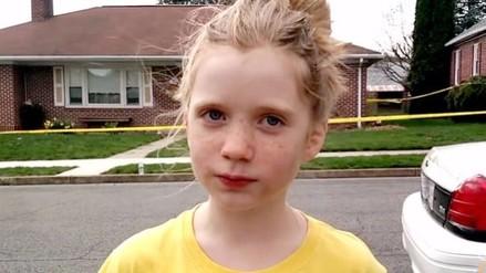 Youtube: niña reportera de 9 años obtuvo primicia de un homicido
