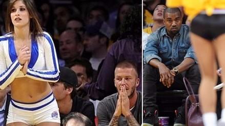NBA: famosos encandilados con los encantos de las porristas