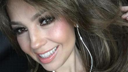 Thalía: actriz se burló de su delicada enfermedad
