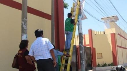 Trujillo: mañana inicia retiro de propaganda electoral