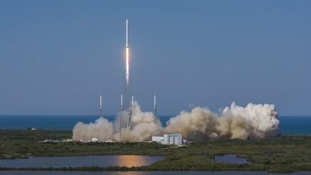 Cohete envió material a la EEI y, luego, regresará a Tierra