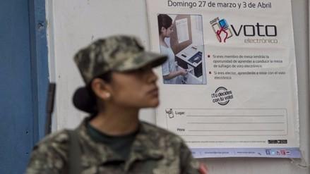 Misión de la OEA condena acto terrorista en víspera de las elecciones