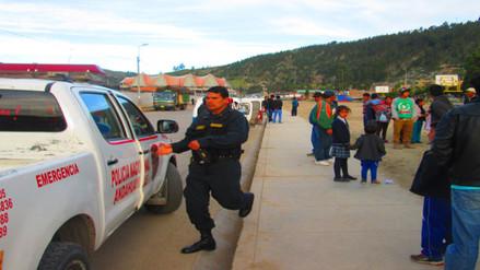 Remueven a personal de la policía de carreteras de Piura