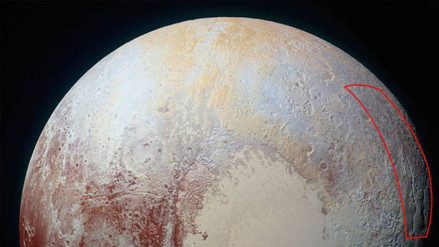 """NASA encuentra """"araña gigante"""" en Plutón"""
