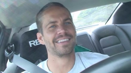 Paul Walker: descubren video conduciendo un Nissan GT-R