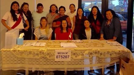 Peruanos en Nueva Zelanda y Australia son los primeros en sufragar