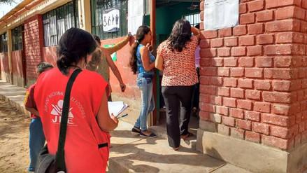 Fiscalizadores verifican que durante elecciones no se reparta propaganda