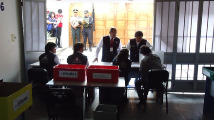 Primeras actas llegan a ODPE 1 para iniciar conteo de votos