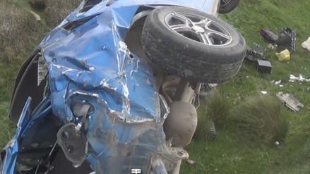 Huacho: accidente de tránsito deja tres muertos y dos heridos