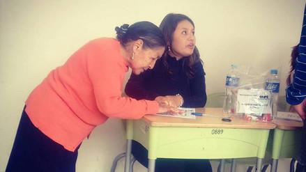 Adultos mayores acudieron a las urnas para cumplir con deber cívico