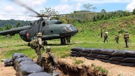 Recuperan cadáveres de militares que sufrieron ataque terrorista