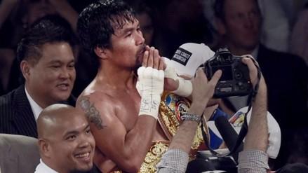Manny Pacquiao venció a Timothy Bradley en la última pelea de su carrera