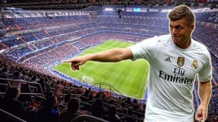 Real Madrid: Toni Kroos pide lleno total del Bernabéu ante Wolfsburgo