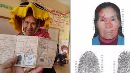 RENIEC: Anciana que fue tendencia sí tiene DNI y la foto no es actual