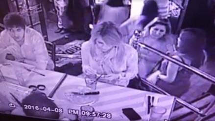 Facebook: así robaron la cartera a hija de Alan García