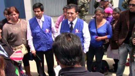 Defensor del Pueblo brinda respaldo a familiares de militares fallecidos en el Vraem