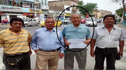 Dirigente de transportistas Ruperto Míñope será enterrado esta tarde