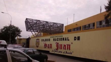 Trujillo: suspenden clases en colegio San Juan sin ser centro de votación