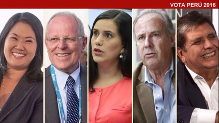 ¿Qué dijeron los candidatos tras conocer los primeros resultados de la ONPE?