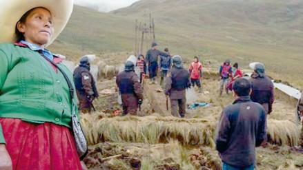 Familia Chaupe ya cuenta con protección policial ante litigio de tierras