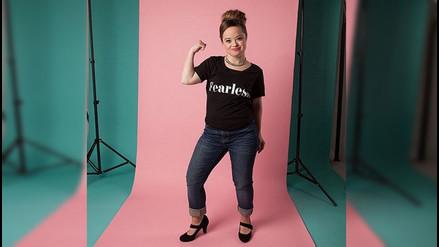 Instagram: mujer con síndrome de Down es imagen de una marca de belleza