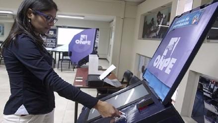 Voto electrónico: sugieren no utilizarlo en segunda vuelta electoral