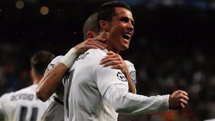 Real Madrid, con triplete de Cristiano, goleó 3-0 a Wolfsburgo y se clasificó