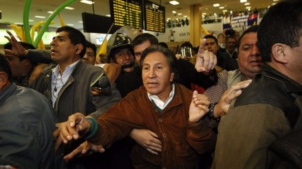 ¿A dónde viajó Alejandro Toledo la noche de las elecciones?