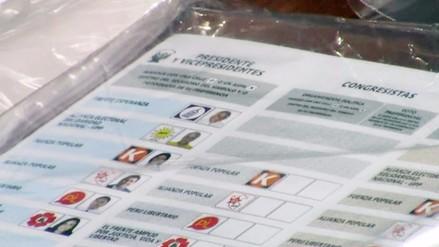 Huancayo: JEE recibió 136 actas observadas de las elecciones