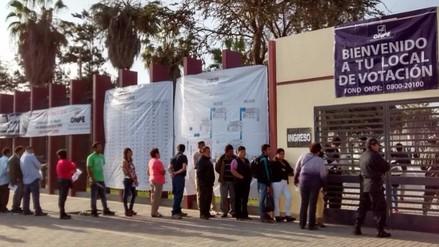 Más de 140 mil lambayecanos no sufragaron en Elecciones Generales